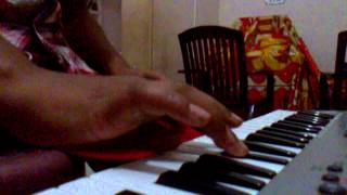 keyboard notes for national anthem of india
