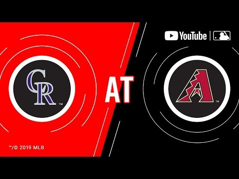 Download Rockies at D-backs | MLB Game of the Week Live on YouTube
