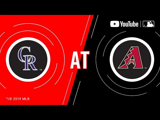 Rockies at D-backs | MLB Game of the Week Live on YouTube