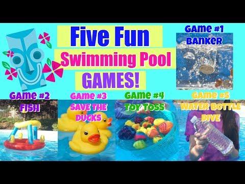 Five Fun Swimming Pool Games Ideas