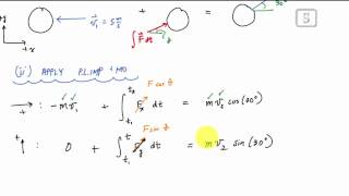 Linear Impulse and Momentum Example 1 - Engineering Dynamics