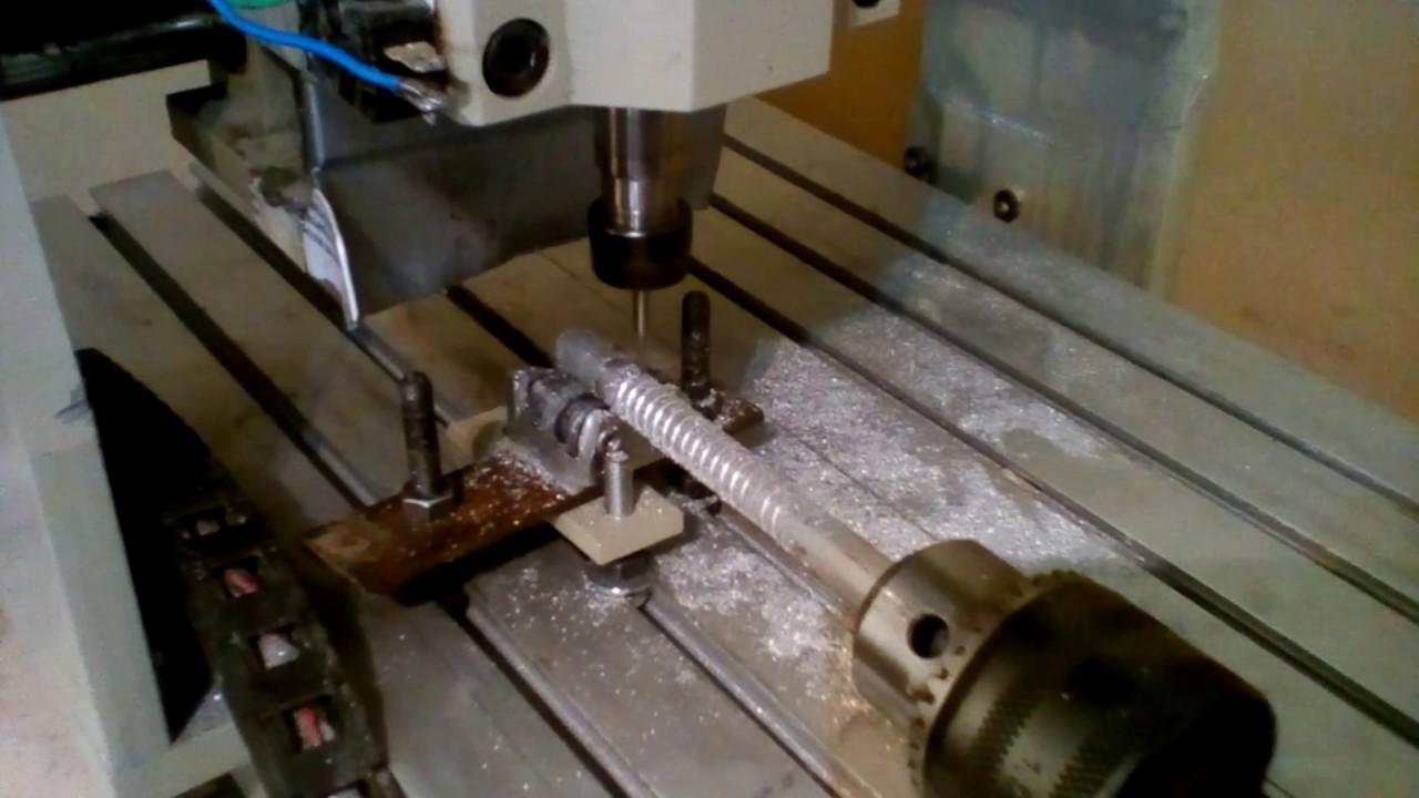 Fabricación de cuarto eje casero para CNC (eje rotatorio) - YouTube