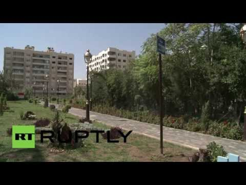 Syria: Park honouring N. Korean founder Kim Il-sung opens in Damascus