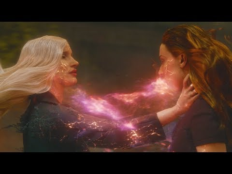X-Men: Dark Phoenix - The Phoenix's Death/Rebirth Scene