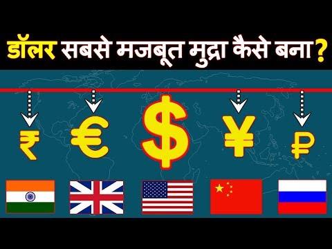 डॉलर दुनिया की सबसे मजबूत मुद्रा(currency) कैसे बना? How US Dollar Became King Of Global Finance?