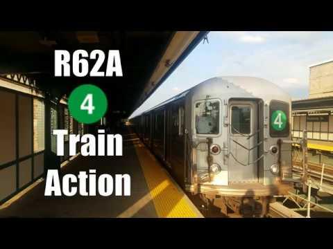NYCT Subway: R62A (4) Train Action in Manhattan & Brooklyn