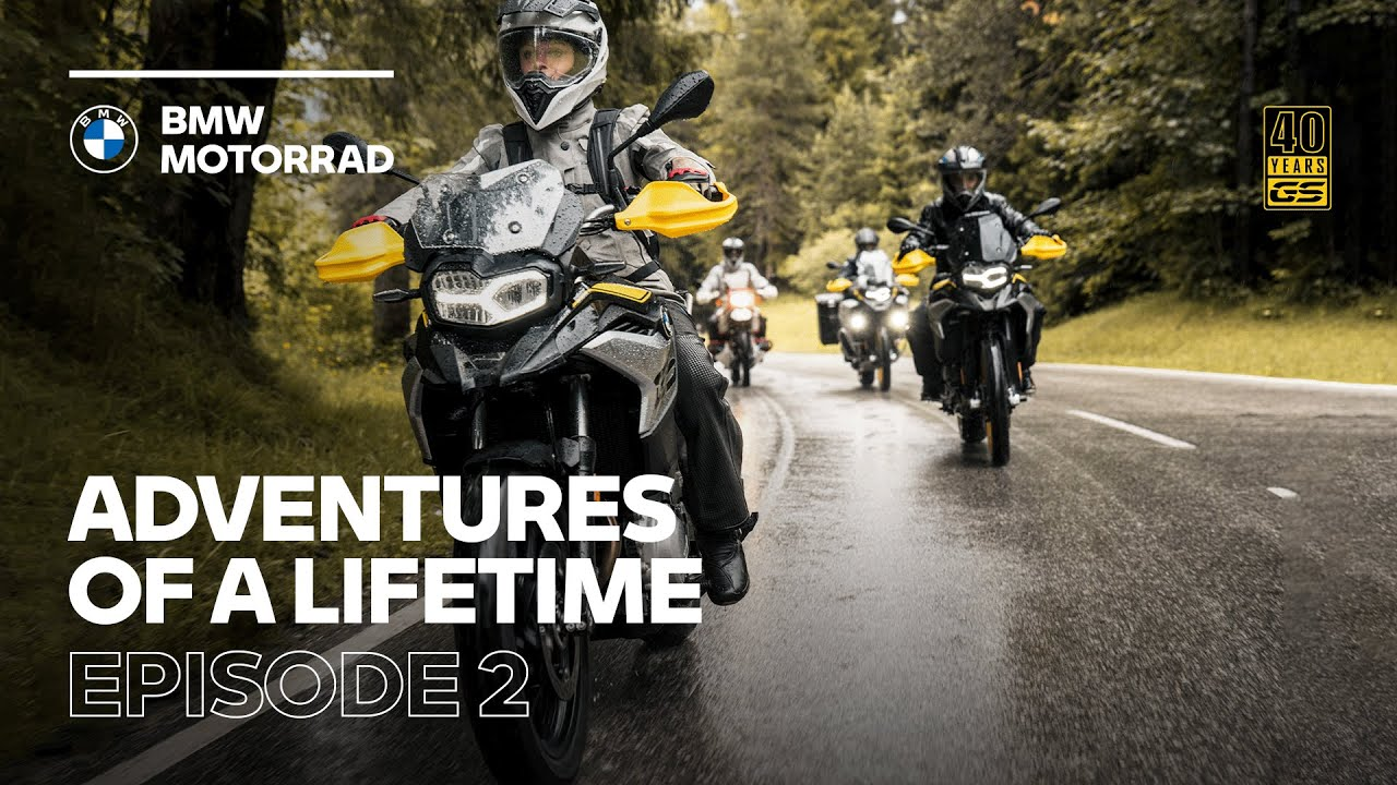 Adventures of a Lifetime l #2 Collect Moments Not Things (ft. the new BMW F 750 GS,  F 850 GS / Adv)