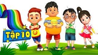 Không quay cóp bài - Kỹ năng sống cho bé qua nhạc thiếu nhi ♥ Phim hoạt hình thiếu nhi - Tập 10