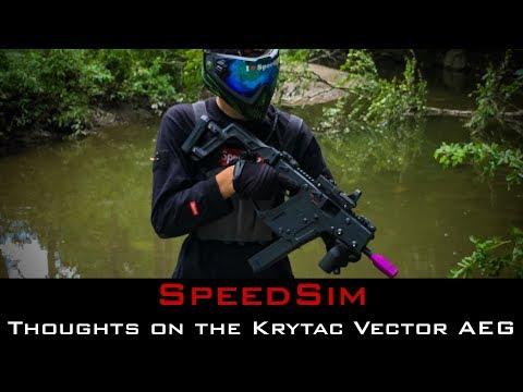 SpeedSim: Thoughts on the Krytac Kriss Vector AEG
