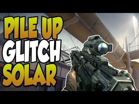'COD AW Glitches' Pile Up Glitch on Solar [Advanced Warfare Exo survival Glitches]