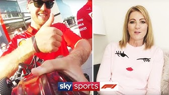 Racing RC cars with Ferrari & working out with Pérez! | At Home With Sky F1 | Rachel Brookes