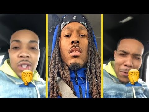 """G Herbo Reacts To Montana Of 300 Starting GoFundMe For His """"Who Run It"""" Freestyle!"""