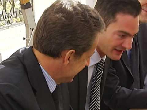 Sarkozy, Kirchner meet in Paris