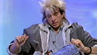 Limahl on TVAM - Timmy Mallett Interview 1983