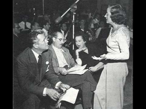 Rare! Tallulah Bankhead & Jack Carson  Baby It's Cold Outside 19501119 Radio Broadcast