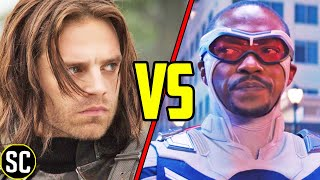 FALCON vs WINTER SOLDIER: Why Sam Was the Right Choice (And Bucky Wasn't) | MARVEL Explained