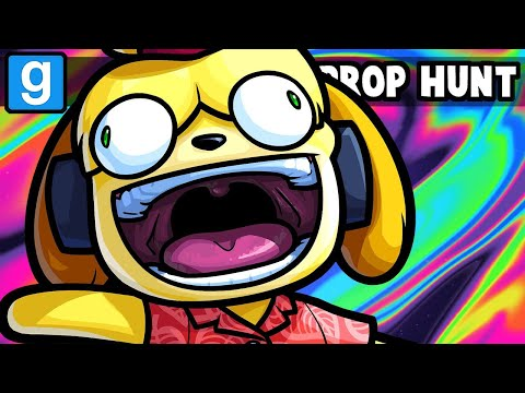 Gmod Prop Hunt Funny Moments - Welcome to Nogla's Extreme Animal Crossing Island!