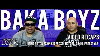 The Baka Boyz - Inside Stories on Pocos Pero Locos - Notorius B.I.G. Freestyle