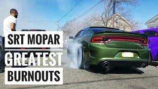 SRT Dodge Burnouts in The Stolen Car Capital : Freesmoke NJ