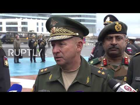 Russia: Joint Indra-2017 military drills kick off in Vladivostok