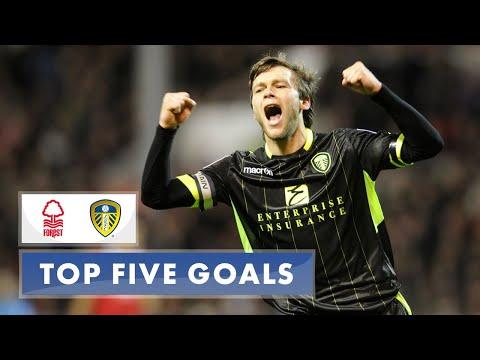 Top five: Leeds United goals away at Nottingham Forest