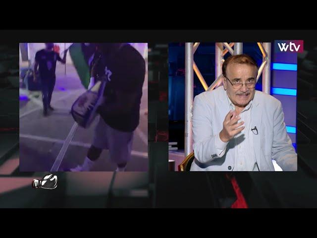 مباراة الملاكم الليبي مالك الزناد أمام التشيكي أوندرنج رادو قناة الوسط