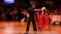 Standard Tänze - Isabel Edvardsson & Markus Weiss - Euro Dance Festival 2008