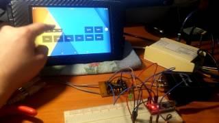 TDA 8425 + nano (управление по сериал).