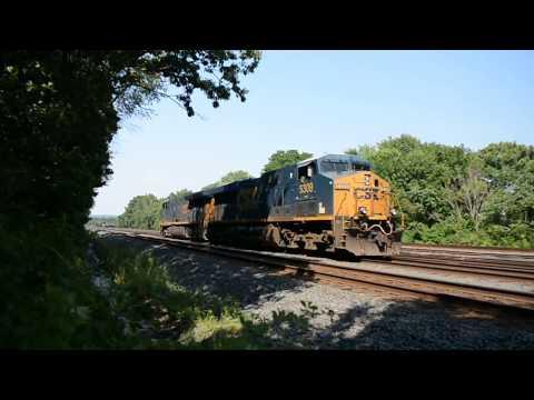Fast Freight, Slow Freight, Long Freight, Short Freight, Railfanning Piscataway-Manville, NJ Jun2017