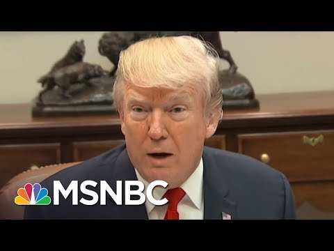 President Trump To Kim Jong Un: My Nuclear Button Is Bigger Than Yours | All In | MSNBC