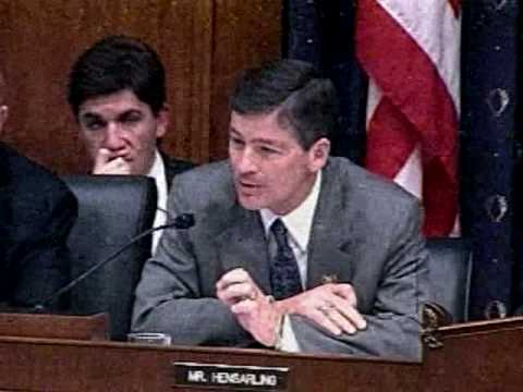 Congressman Jeb Hensarling preemption of federal bank regulation by states 10 20 09 3 46 PM