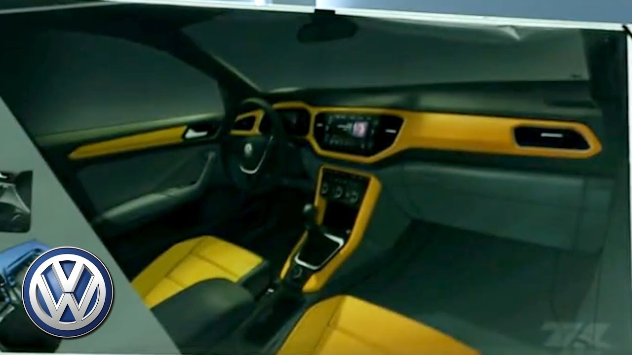 2018 Volkswagen T Roc Teaser Interior Design Youtube