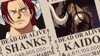 Top 20 Nhân vật có MỨC TIỀN TRUY NÃ CAO NHẤT đã được Oda công bố [One Piece Chapter 958]