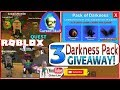 🍬 Roblox Mining Simulator! 2X CANDY! 3 DARKNESS PACK Giveaway! Getting Cursed Skull! Loud Warning!