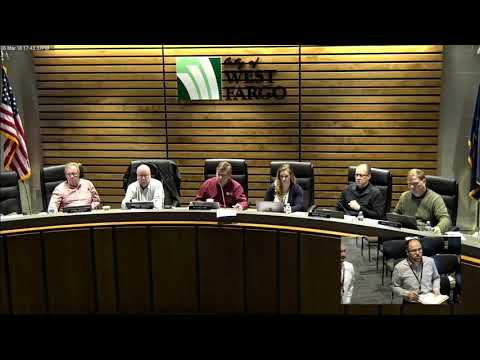 City of West Fargo March 5, 2018, City Commission Meeting