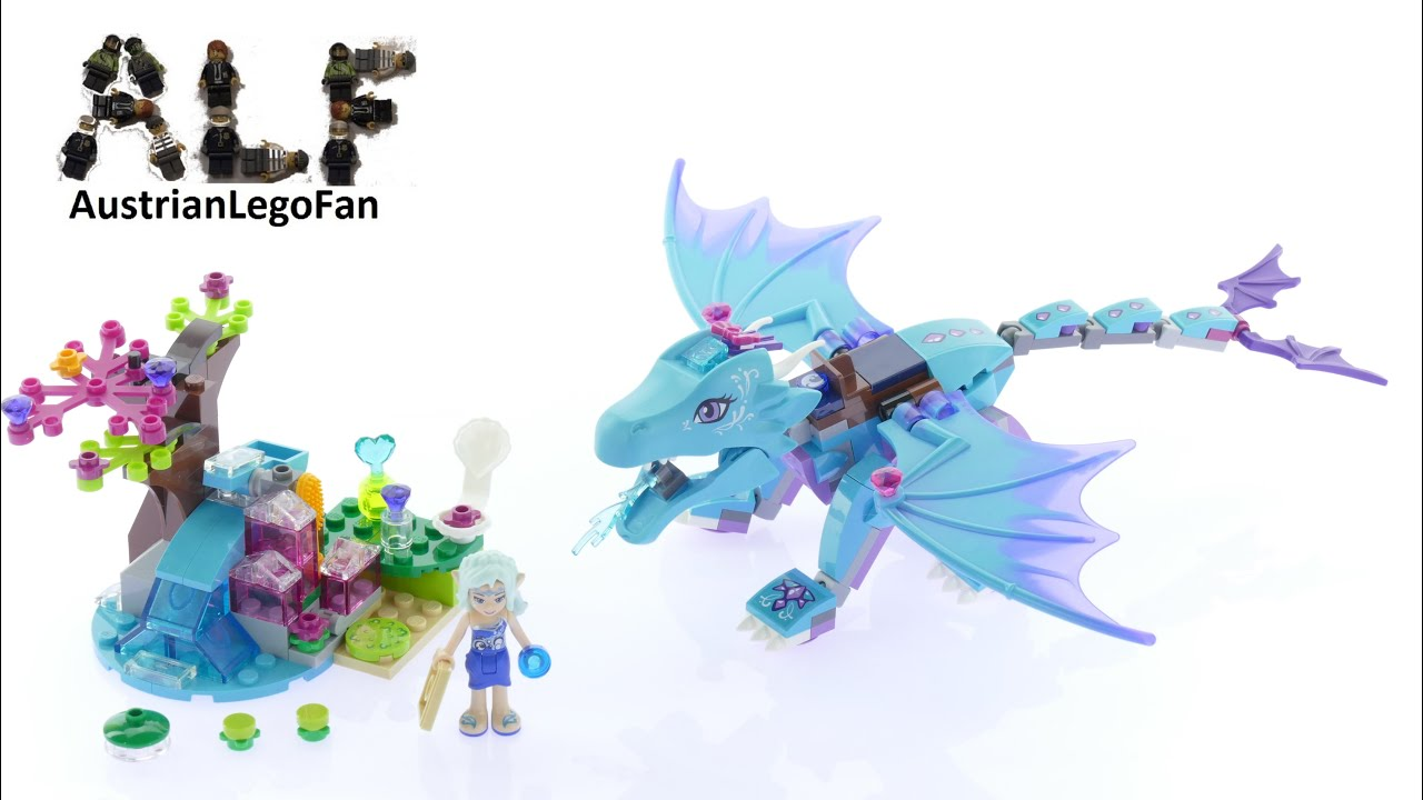 lego elves 41172 the water dragon adventure lego speed. Black Bedroom Furniture Sets. Home Design Ideas