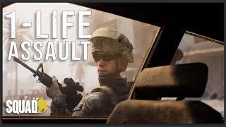 SWEEPING THROUGH THE ALLEYS OF FALLUJAH IN THIS REALISTIC 50 VS 50 1-LIFE SQUAD EVENT
