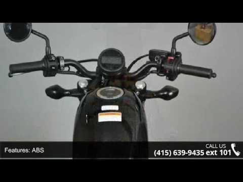 2017 Honda Rebel 500 ABS - SF Moto - San Francisco, CA 94103