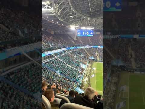 Зенит - Спартак ⚽️ Стадион Газпром арена 🏟