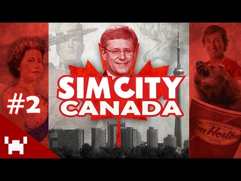 CRIME IN CANADA!? (SimCity: Canada - Ep. 2)