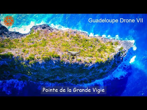HD Drone Video | Pointe de la Grande Vigie, Guadeloupe