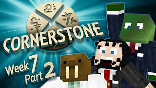 Minecraft Cornerstone -  Pygmy Smith (Week 7 Part 2)