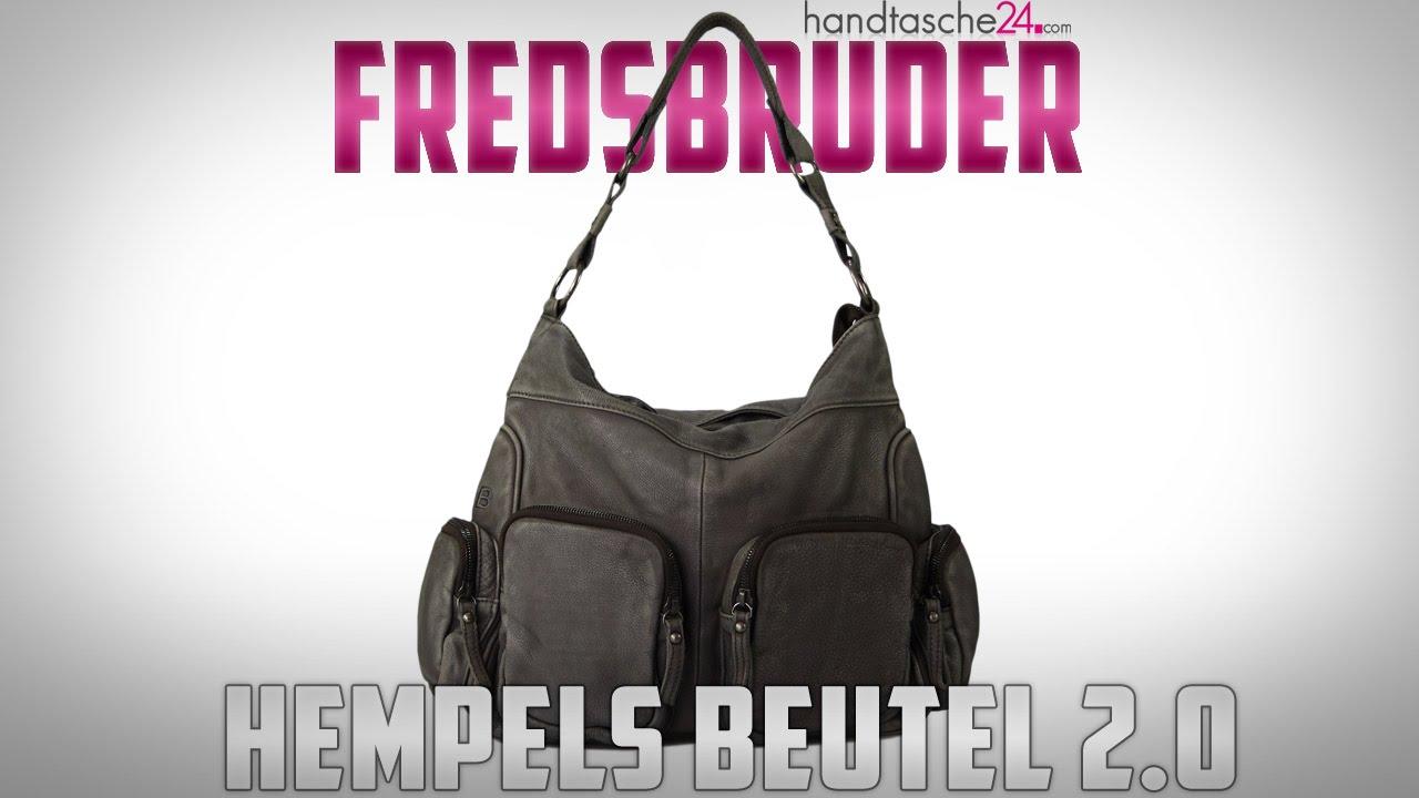 neuer Stil von 2019 großer Lagerverkauf billig werden Fredsbruder - Hempels Beutel 2.0 Ledertasche - YouTube