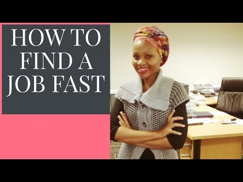 How to get a Job Fast in South Africa|| Job Hunting Tips 2020