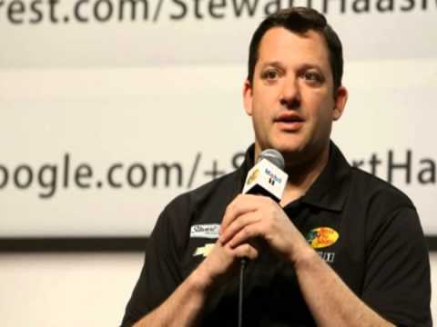 Tony Stewart's Message To Amy
