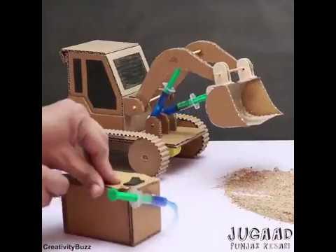 Kartondan Kepçe Yapımı