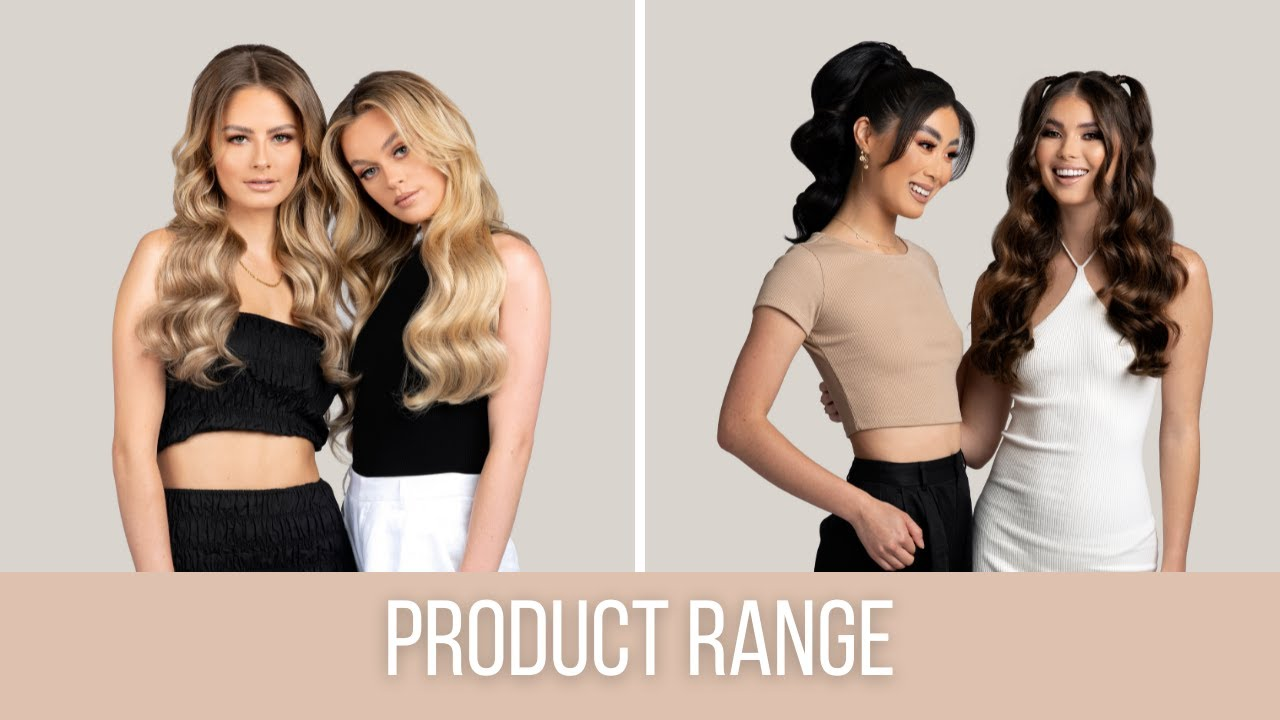 Zala Hair Extensions The Full Zala Product Range 2018 Youtube