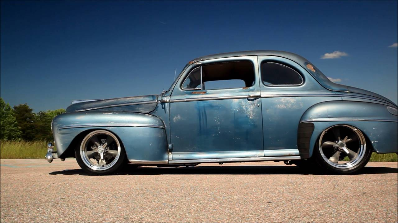 gin runner slammed 1948 ford coupe perfect patina hot rod restomod for sale now youtube. Black Bedroom Furniture Sets. Home Design Ideas