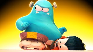 Funny Animated Cartoon | Spookiz | Frankie Is MEAN | 스푸키즈 | Cartoon For Children