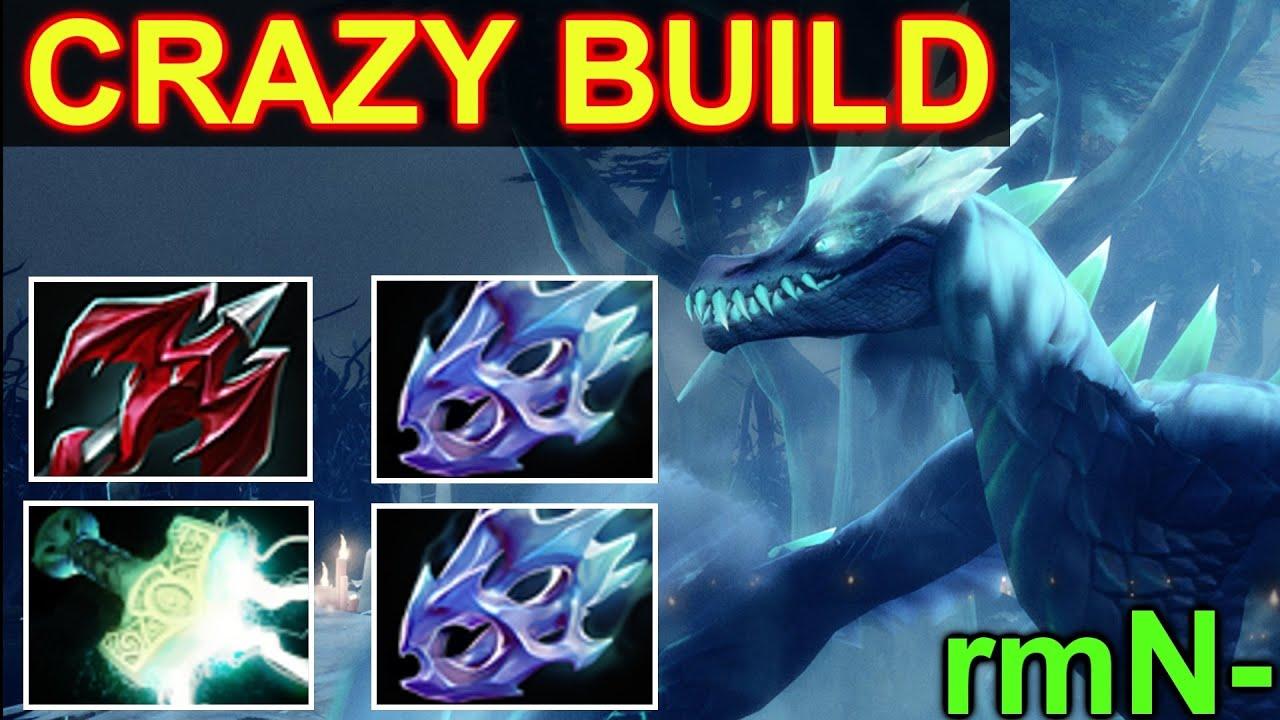 RmN Winter Wyvern Dota 2 Crazy Build Moon Shard Dragon Lance Mjolnir YouTube